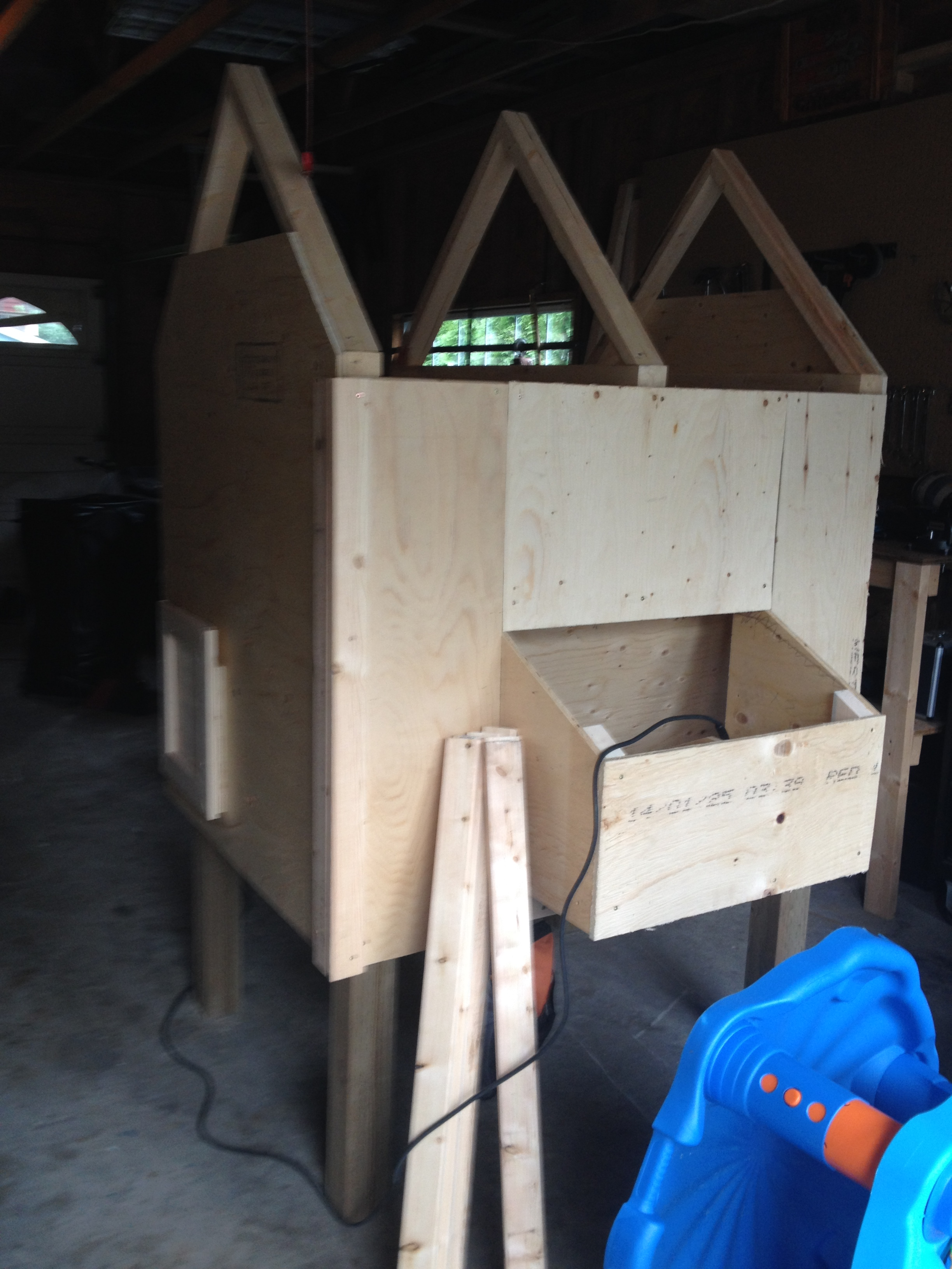 backyard chicken coop build meadow view farm